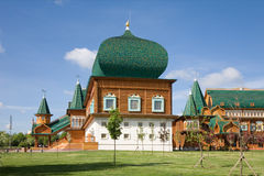 The Palace of Tsar Alexei Mikhailovich. Kolomenskoye. Moscow Stock Photography