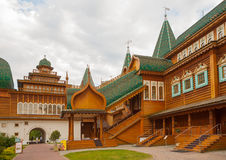 Palace of the Tsar Alexey Mikhailovich Royalty Free Stock Photo
