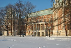 Palace in Tsaritsyno Stock Photography