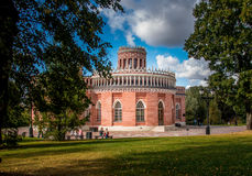 Palace. Tsaritsyno Park Museum, Landscape reserve Royalty Free Stock Photography