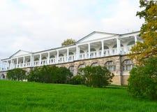 Palace in Tsarskoe Selo. Stock Photo