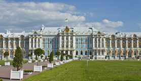 Palace in Tsarskoye selo, Russia Royalty Free Stock Images
