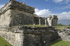 Palace at Tulum Northwest Corner Royalty Free Stock Photo