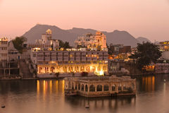 Palace.Udaipur.India. City Palace under sunset,Udaipur.India Royalty Free Stock Images