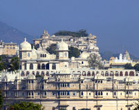 Palace in Udaipur India Stock Photography