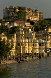 Palace.Udaipur.India. 库存照片