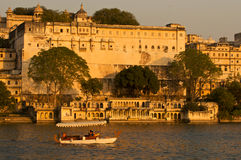 Palace.Udaipur.India. Royalty Free Stock Photography