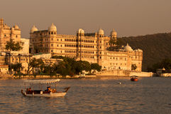 Palace.Udaipur.India. City Palace under sunset,Udaipur.India Royalty Free Stock Photos