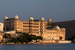 Palace.Udaipur.India. City Palace under sunset,Udaipur.India stock photo