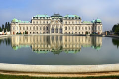 Palace Upper Belveder, Vienna, Austria Stock Photo
