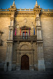 Palace Valladolid. Palace of Santa Cruz Valladolid Royalty Free Stock Photo