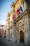Palace Valladolid. Palace of Santa Cruz Valladolid Stock Images