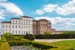The palace of Venaria, royal residence in Turin, piedmont Royalty Free Stock Photos