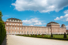 The palace of Venaria, royal residence in Turin, piedmont Stock Photo