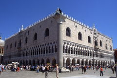 Palace.Venice des Doges. Stockfoto