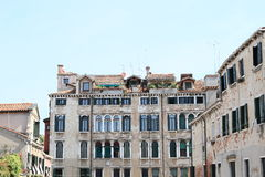 Palace in Venice Stock Photo