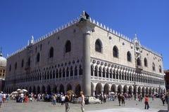 Palace.Venice van de doge. Stock Foto