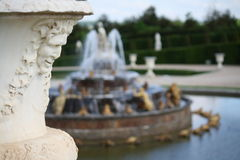 Palace of Versailles. The Garden of Versailles`Palace, France Stock Photos