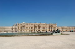 Palace of Versailles. The Palace of Versailles in France Royalty Free Stock Photos