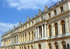 The Palace of Versailles. The Back of Versailles Palace Stock Photography