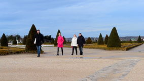 Palace of Versailles (Chateau de Versailles) in Paris, France, stock video footage