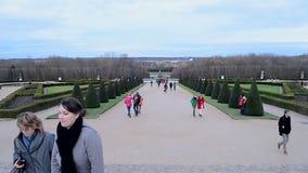 Palace of Versailles (Chateau de Versailles), Paris,France, stock video footage