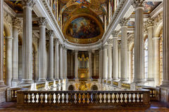 Palace of Versailles - France. The chapel in the Palace of Versailles in France royalty free stock photography