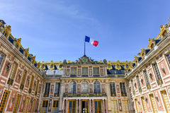 Palace of Versailles - France. The famous Palace of Versailles in France Royalty Free Stock Photography