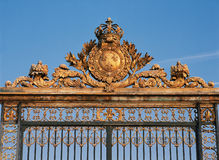 Palace of Versailles gate Stock Image