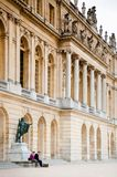 Palace of Versailles on the palace`s garden side. Royalty Free Stock Photo