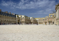 Palace of Versailles, Paris. The Palace of Versailles or simply Versailles, is a royal château in Versailles in the Île-de-France region of France. In French Stock Photo