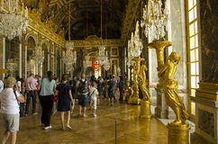 Palace of Versailles, Paris Royalty Free Stock Photos