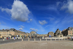 Palace of versailles in paris,france Royalty Free Stock Photography