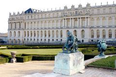 The palace of Versailles Royalty Free Stock Photography