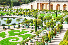 Palace Versailles, Royal Orangery. Royalty Free Stock Photo