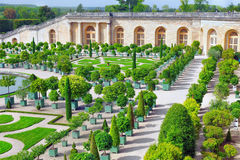 Palace Versailles, Royal Orangery. Royalty Free Stock Photos