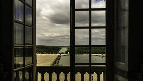 The Palace of Versailles stock photo