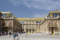 Palace of Versailles, Paris. The Palace of Versailles or simply Versailles, is a royal château in Versailles in the Île-de-France region of France. In French Royalty Free Stock Images