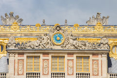The Palace Versailles was a royal chateau in Paris, France Stock Images