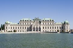 Palace in vienna Stock Photo