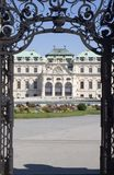 Palace in vienna Stock Photography