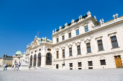 Palace in Vienna Austria Royalty Free Stock Photo