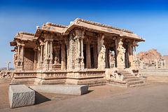 Palace at Vittala temple Royalty Free Stock Images