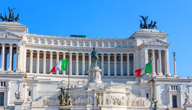 Palace Vittoriano in Rome Stock Photography