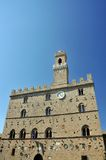 Palace in Volterra Royalty Free Stock Photos