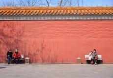 Palace wall Stock Photos