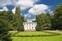 Palace in Warsaw. Royalty Free Stock Photos