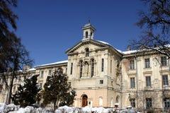 Palace 19 - th century, classicism. Palace was built in the 19 - th century in the style of classicism (Lviv, Ukraine Stock Images