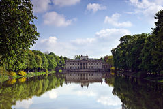 Palace on the water Royalty Free Stock Image
