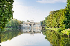 Palace on the Water in Lazienki Park Royalty Free Stock Images